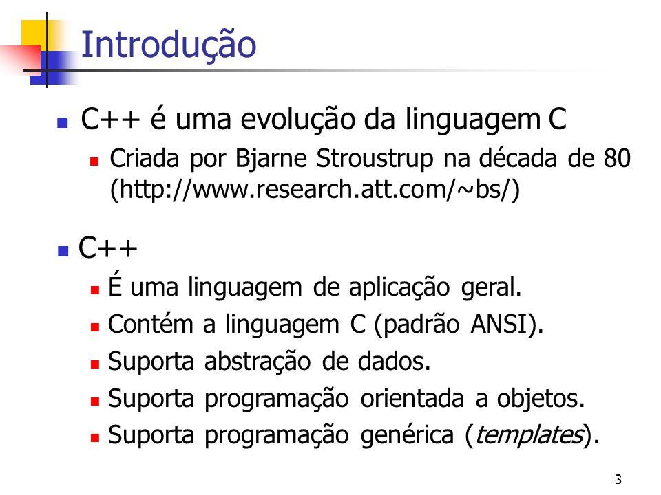 2 Módulo I – Programação Estruturada Introdução Características básicas Decisões condicionais Laços Vetores e matrizes Ponteiros Funções Estruturas En