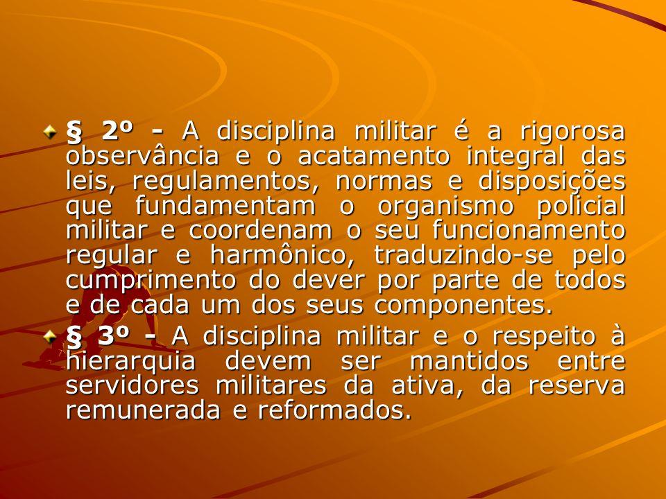 § 2º - A responsabilidade disciplinar é independente das responsabilidades civil e penal.