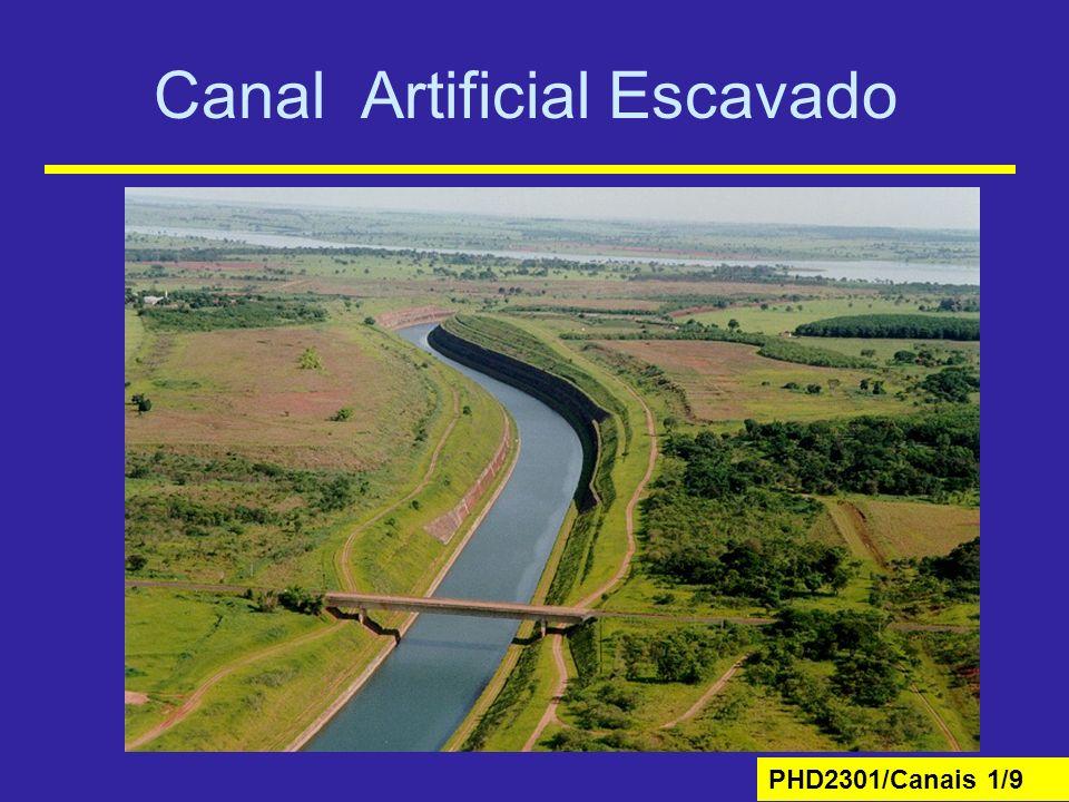 PHD2301/Canais 1/9 Canal Artificial Escavado