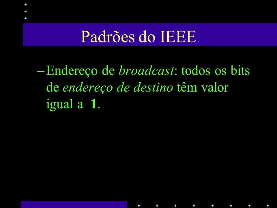 Conexão entre NIC e a Rede Uma tecnologia rede pode ter várias tecnologias de transmitir o sinal na rede –ETHERNET: Cabo Grosso: 10base5 - Transceiver Cabo Fino: 10base2- Conector BCN Par Trançado: 10baseT - Conector RJ-45