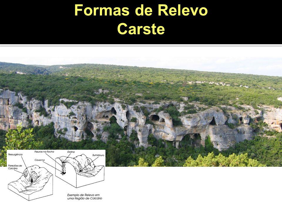 Formas de Relevo Carste