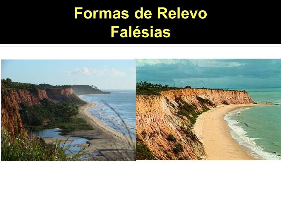 Formas de Relevo Falésias