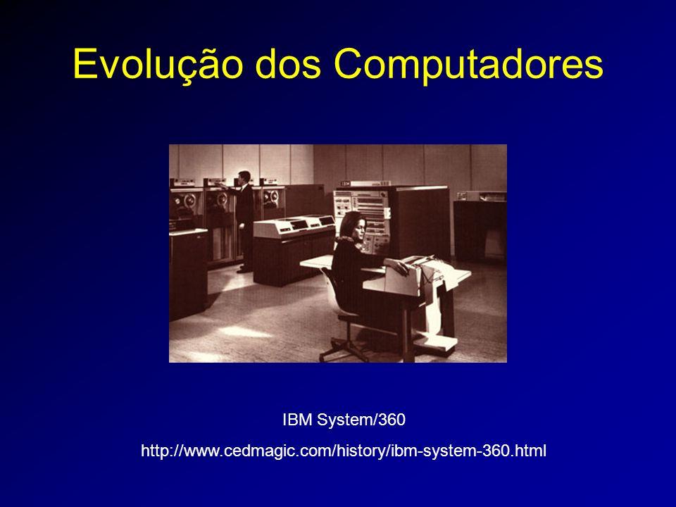 Evolução dos Computadores IBM System/360 http://www.cedmagic.com/history/ibm-system-360.html