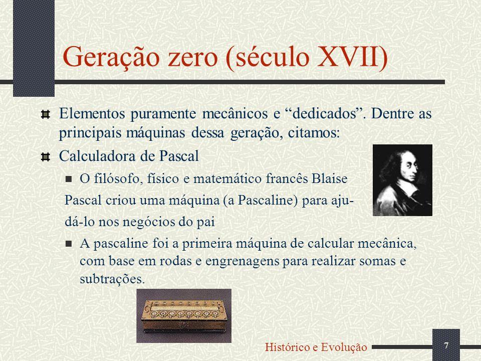 8 Calculadora de Leibnitz o filósofo e matemático alemão von Leibnitz introduziu o conceito de realizar multiplicações e divisões através de adições e subtrações sucessivas.