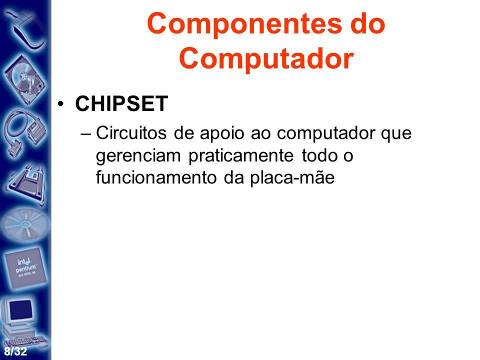 9/32 Arquitetura Básica de Um Computador Unidade Central de Processamento