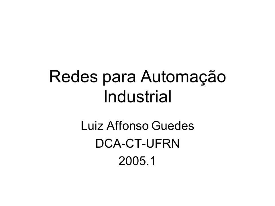 Redes para Automação Industrial Luiz Affonso Guedes DCA-CT-UFRN 2005.1