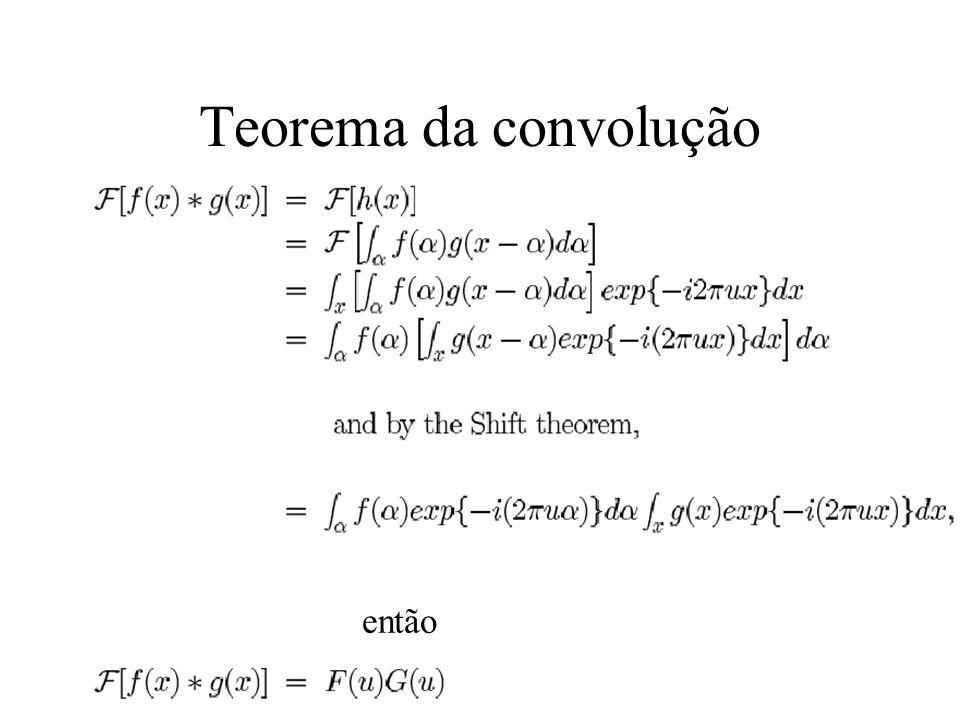 Teorema da convolução então