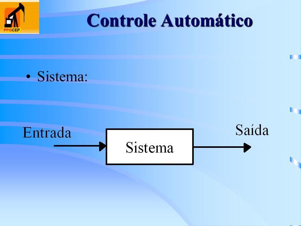 Controle Automático Sistema: