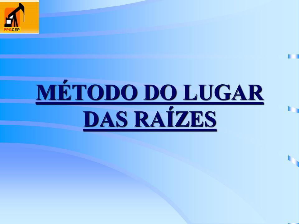 MÉTODO DO LUGAR DAS RAÍZES