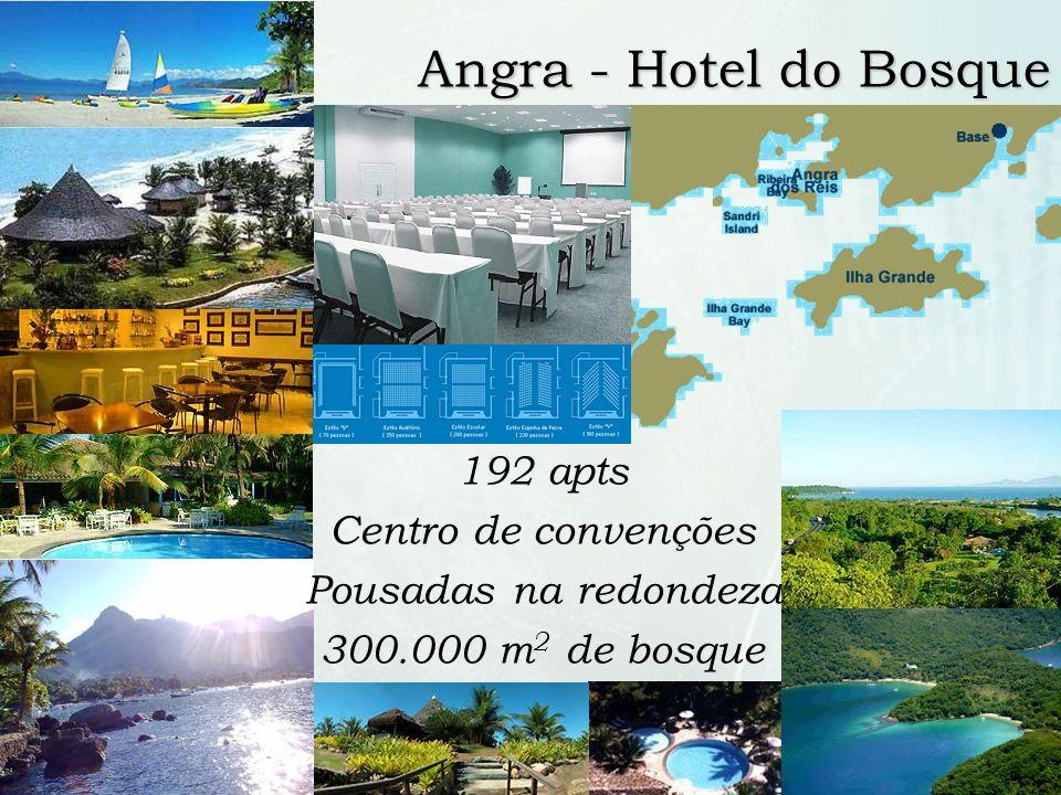8 /10 Angra - Hotel do Bosque 192 apts Centro de convenções Pousadas na redondeza 300.000 m 2 de bosque