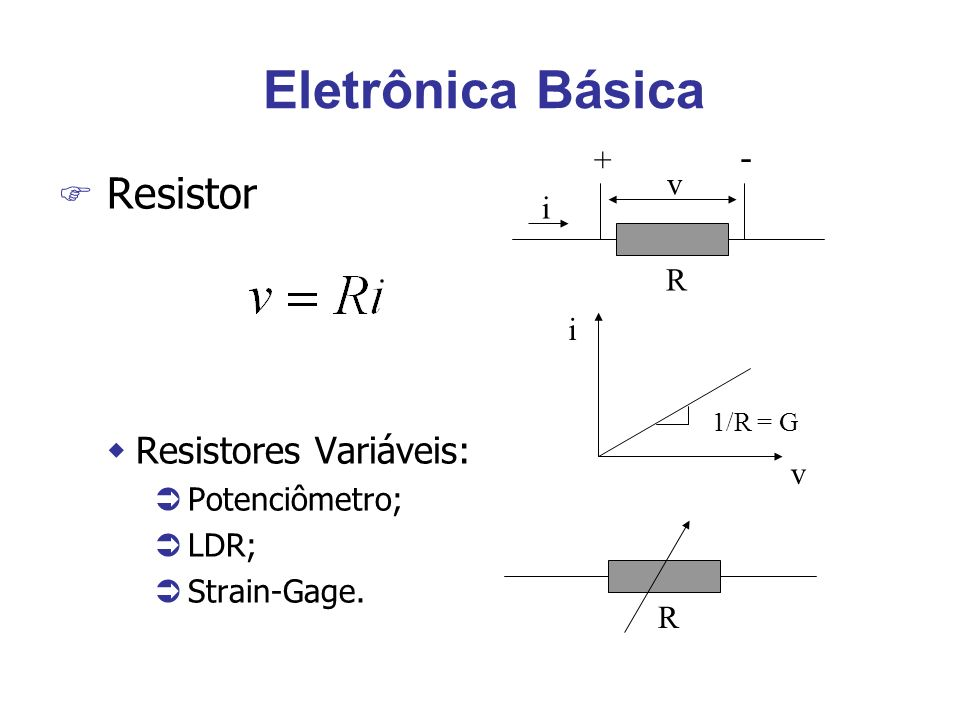 Curva térmica do diodo F O diodo é encontrado em controles e termômetros de baixo custo e razoável precisão, até uns 100 ºC.