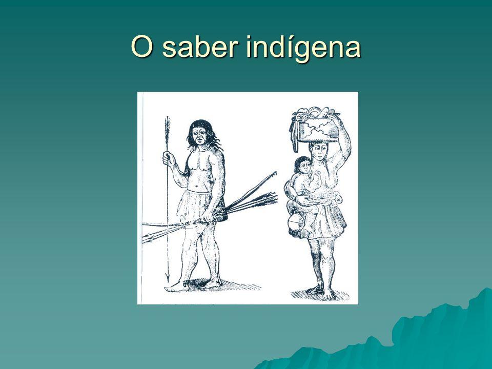 O saber indígena