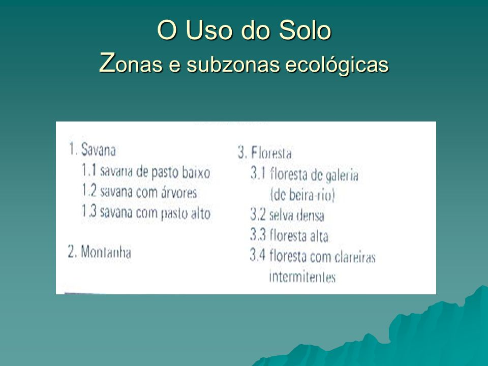 O cultivo itinerante constitui, portanto, uma solução ecológica racional encontrada pelo habitante nativo.