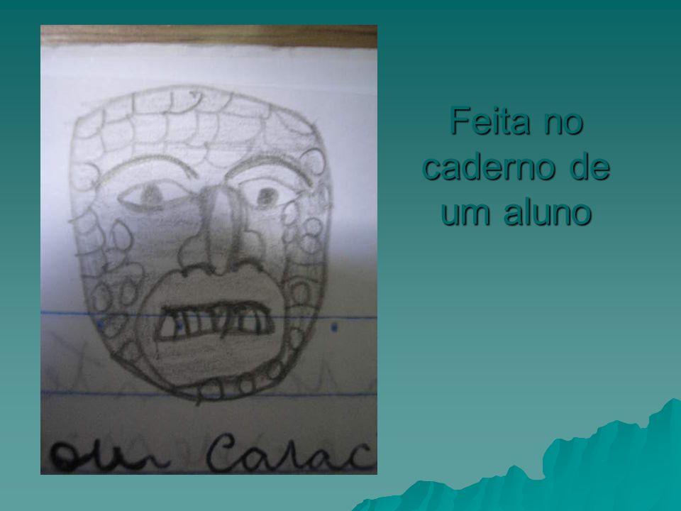 Feita no caderno de um aluno