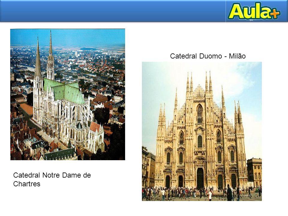 Catedral Notre Dame de Chartres Catedral Duomo - Milão