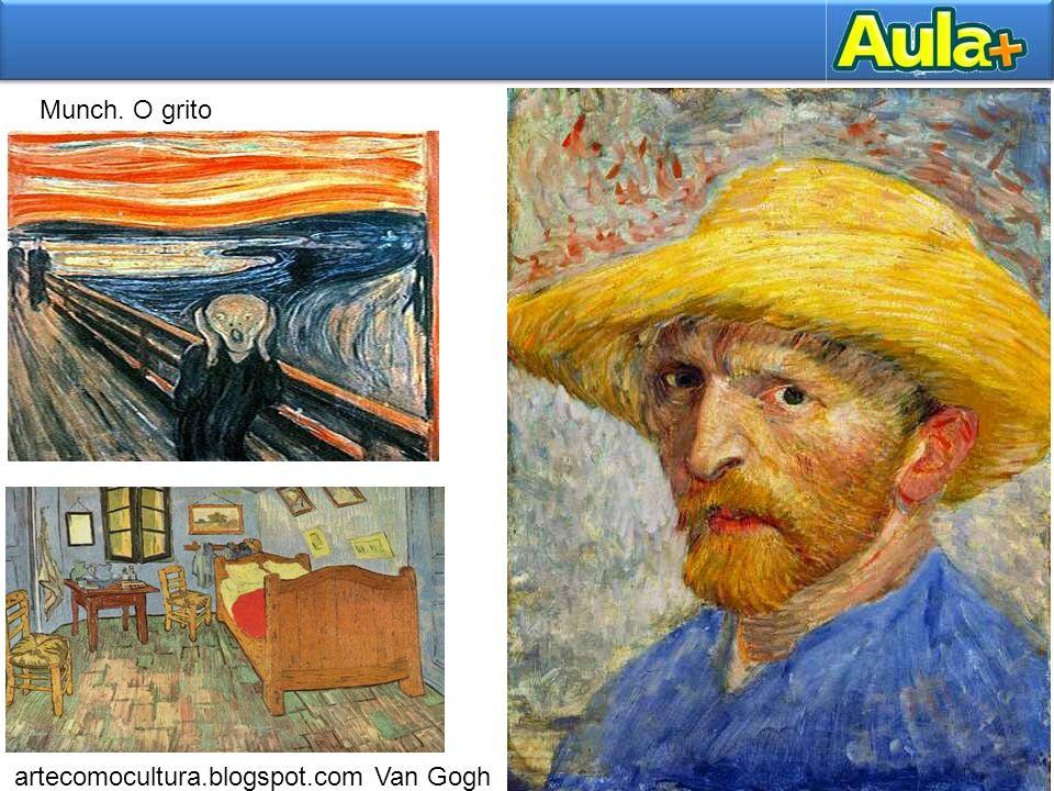 artecomocultura.blogspot.com Van Gogh Munch. O grito