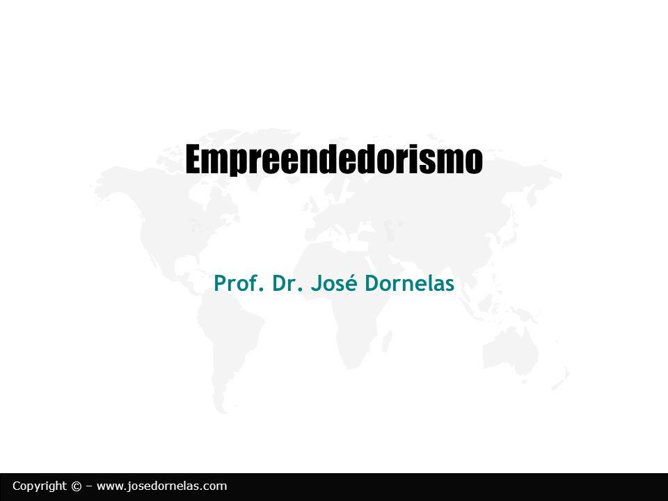 Copyright © – www.josedornelas.com Empreendedorismo Prof. Dr. José Dornelas