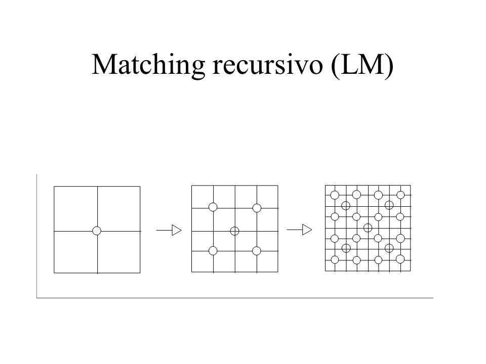 Matching recursivo (LM)