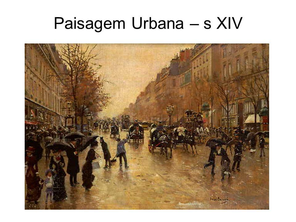 Paisagem Urbana – s XIV
