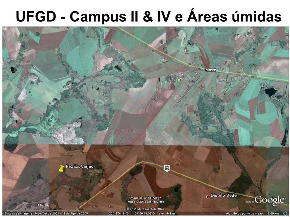 UFGD - Campus II & IV e Áreas úmidas