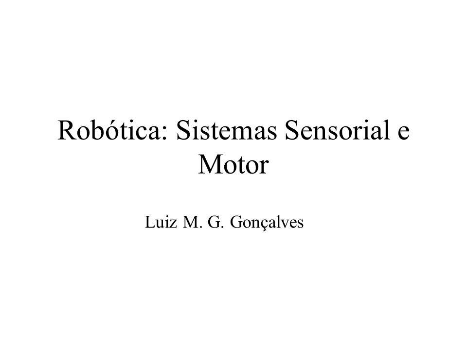 Robótica: Sistemas Sensorial e Motor Luiz M. G. Gonçalves