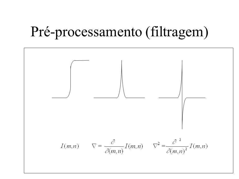 Pré-processamento (filtragem)
