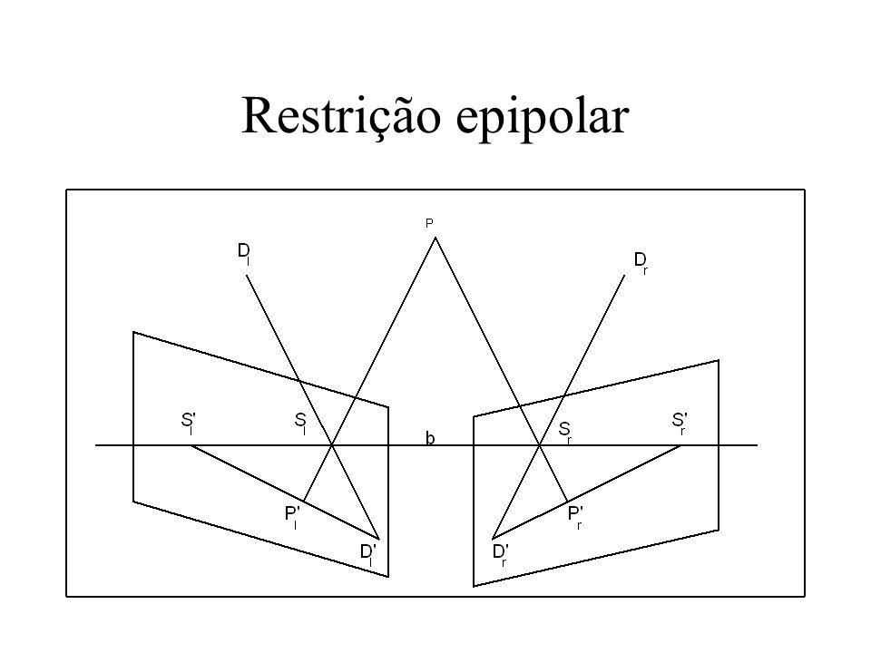 Restrição epipolar