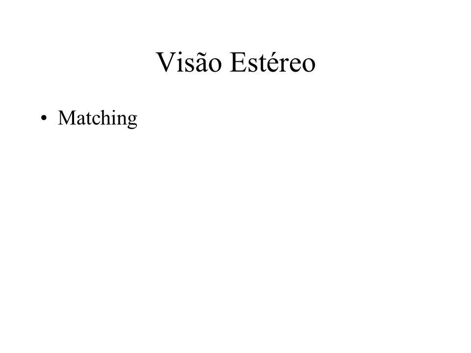 Visão Estéreo Matching