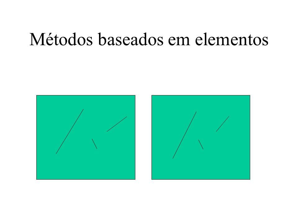 Métodos baseados em elementos