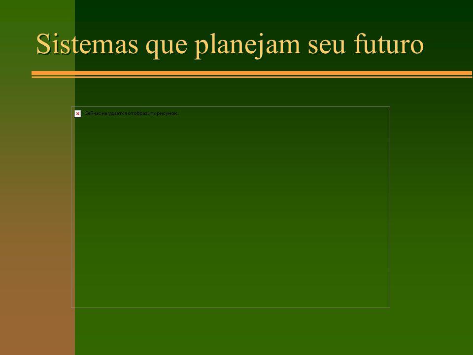 Sistemas que planejam seu futuro