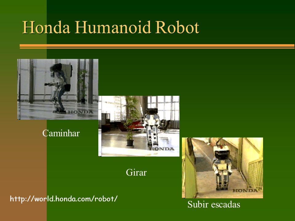 Honda Humanoid Robot Caminhar Girar Subir escadas http://world.honda.com/robot/