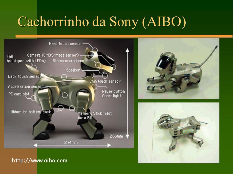 Cachorrinho da Sony (AIBO) http://www.aibo.com