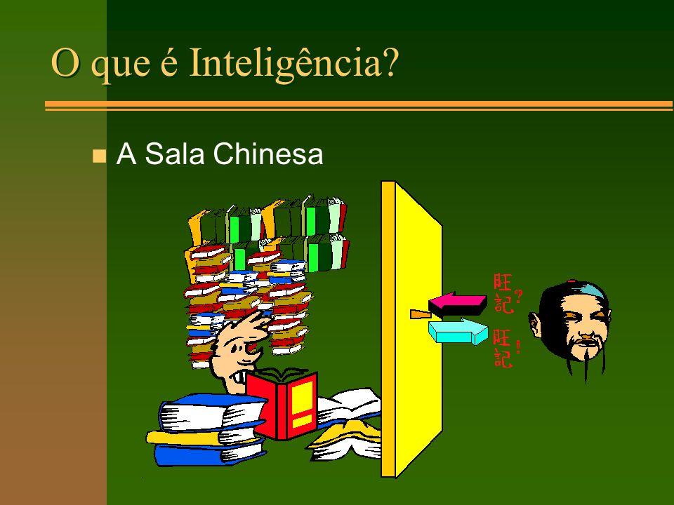 O que é Inteligência n A Sala Chinesa