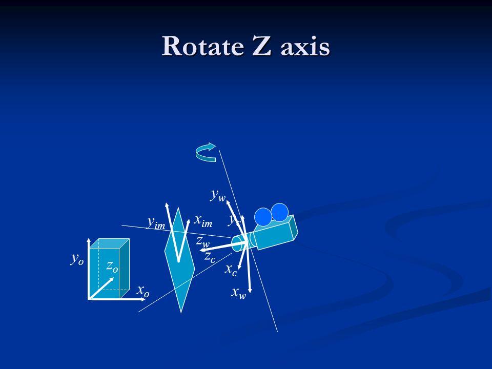 Rotate Z axis xoxo zozo yoyo ycyc xcxc zczc xwxw zwzw ywyw y im x im