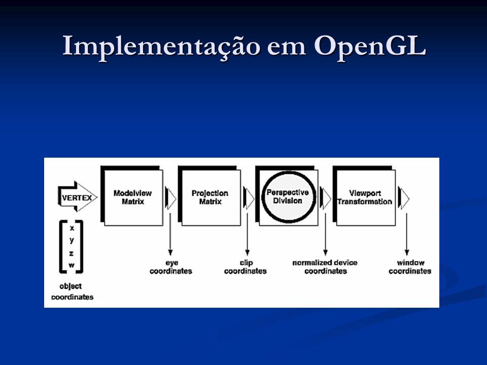 Implementação em OpenGL