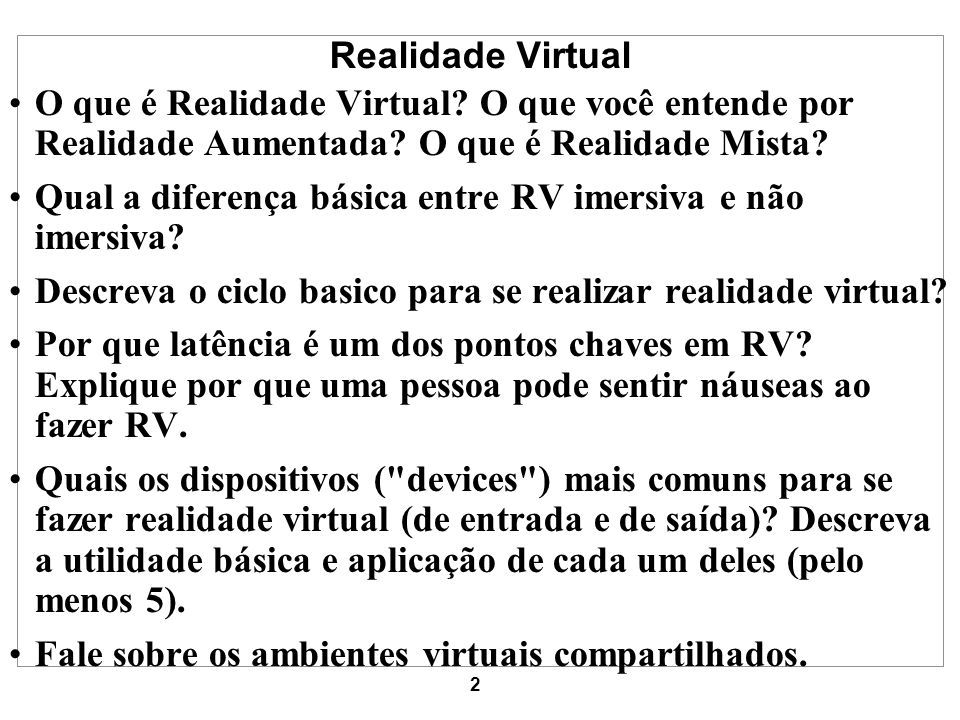 3 What is Virtual Reality.