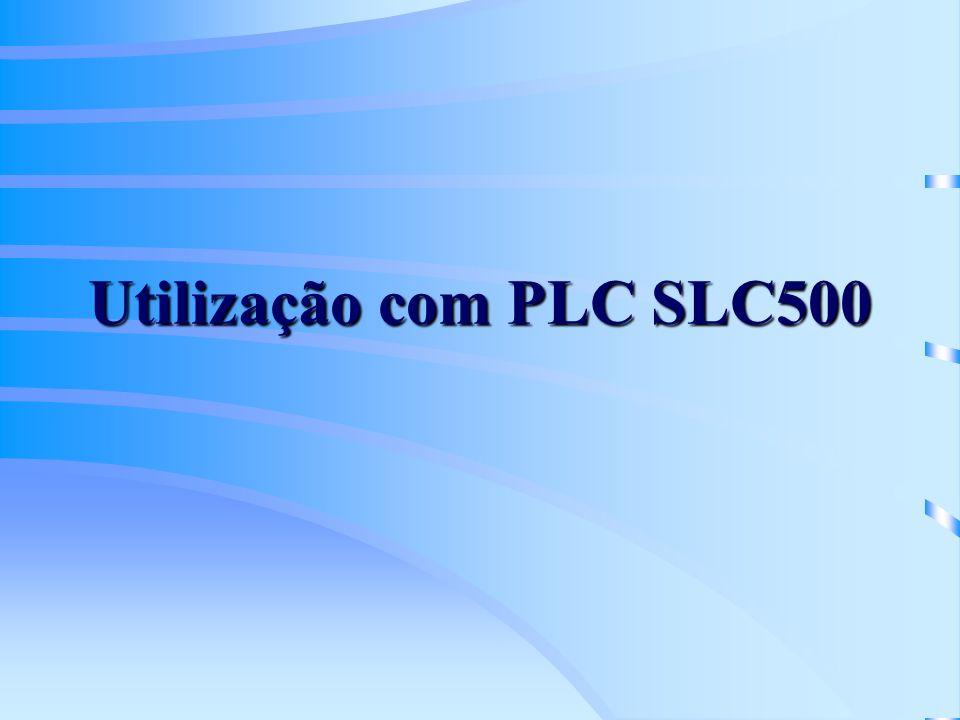 Utilização com PLC SLC500