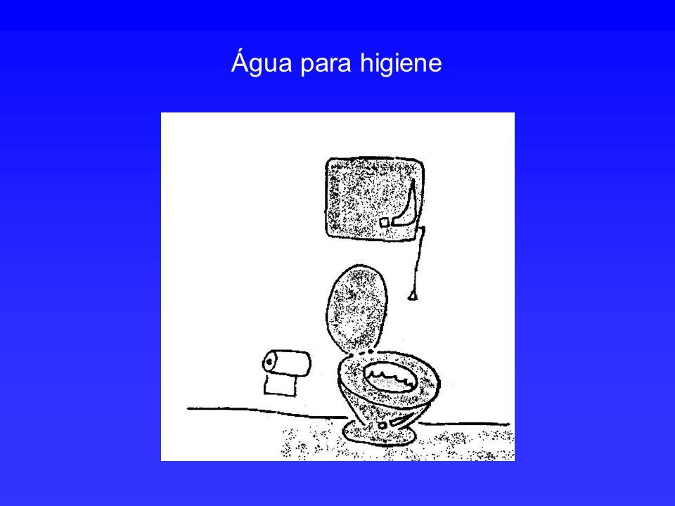 Água para higiene