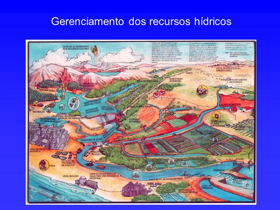 Gerenciamento dos recursos hídricos