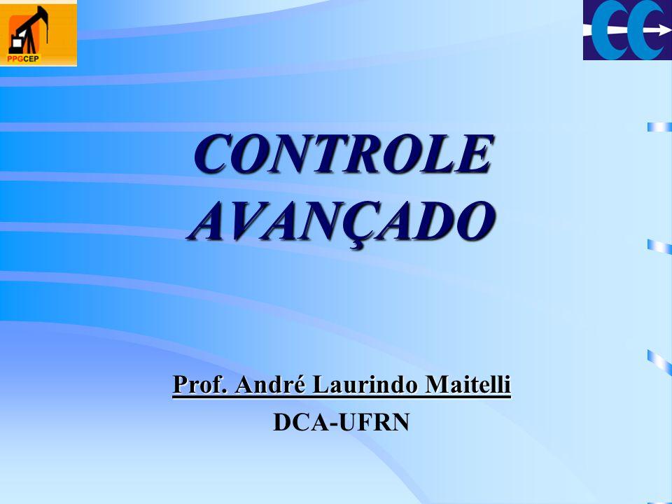 Controle Adaptativo por Modelo de Referência (MRAC) ControladorProcesso Modelo de Referência yu r parâmetros do controlador Lei de Adaptação e laço interno laço externo ymym θ