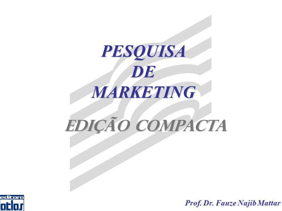 Mattar PESQUISA DE MARKETING – Edição Compacta 12 Comunicação: questionamentos verbais ou escritos que gerarão dados declarados verbalmente ou por escrito pelos respondentes.