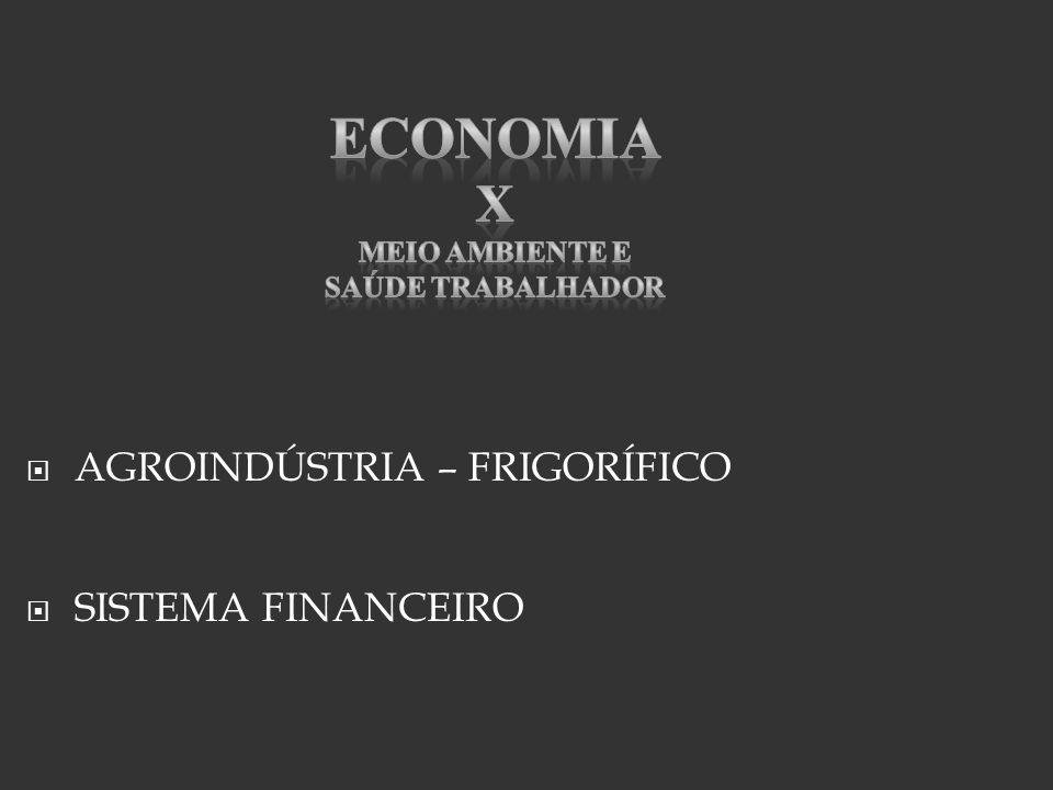 AGROINDÚSTRIA – FRIGORÍFICO SISTEMA FINANCEIRO