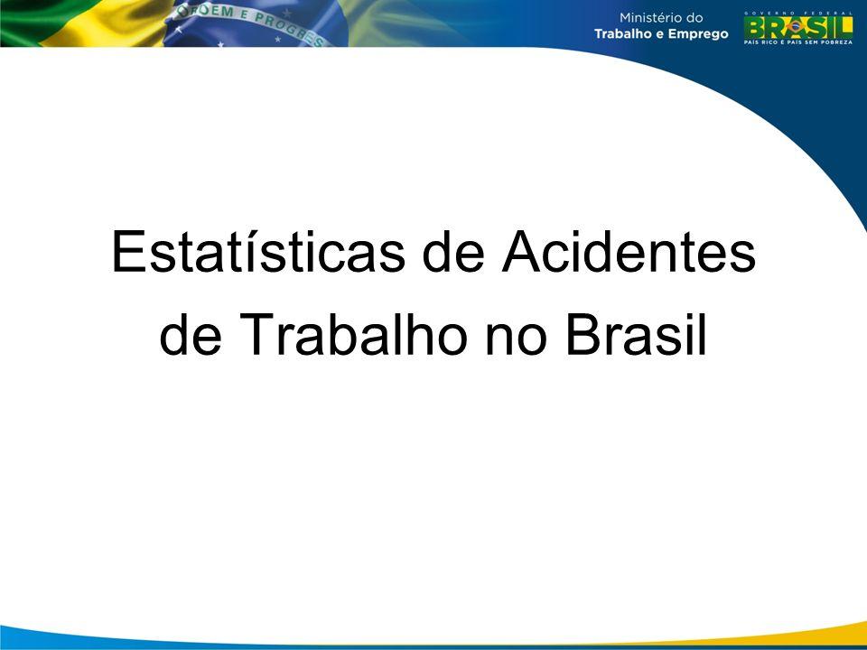Estatísticas de Acidentes de Trabalho no Brasil