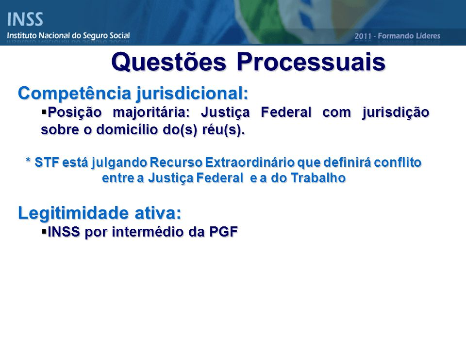 Competência jurisdicional: Posição majoritária: Justiça Federal com jurisdição sobre o domicílio do(s) réu(s). Posição majoritária: Justiça Federal co