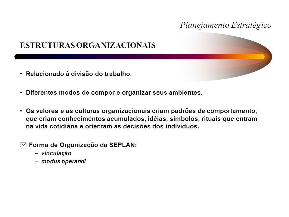Planejamento Estratégico IDENTIDADE INSTITUCIONAL AMBIENTE INTERNO - FRAQUEZAS +São características que podem influenciar negativamente no desempenho da organização.