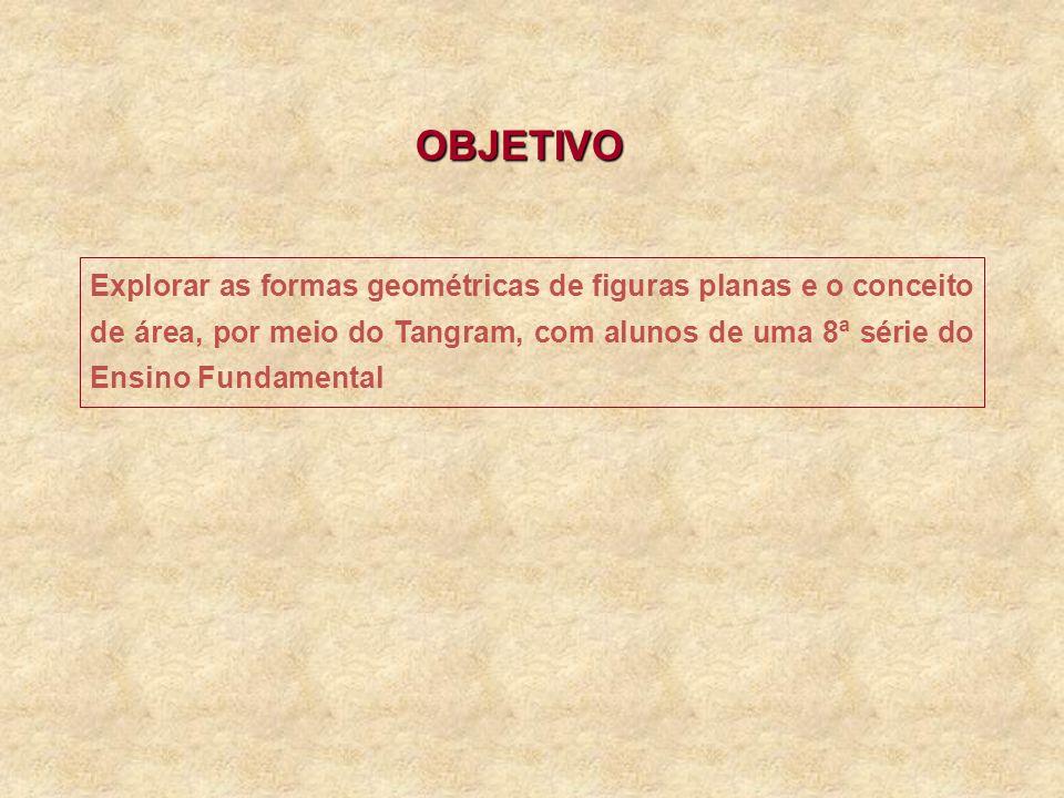 c) Cinco peças: d) Suponha que o lado do quadrado original mede 4m.