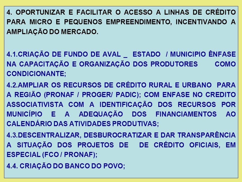 4.5 INCREMENTAR OS PROCESSOS DE REGULARIZAÇÃO FUNDIÁRIA NA REGIÃO DA BAIXADA CUIABANA (CONCLUIR O PROJETO VARREDURA E PROGRAMAS DE ASSENTAMENTO): 4.6.