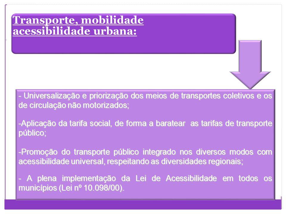 O que é Mobilidade Urbana? facilidade de deslocamentos de pessoas e bens no espaço urbano. É um atributo das cidades e se refere à facilidade de deslo