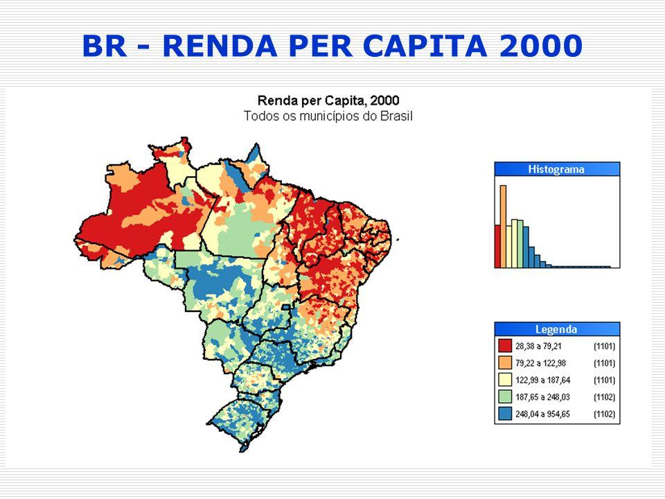 BR - RENDA PER CAPITA 2000