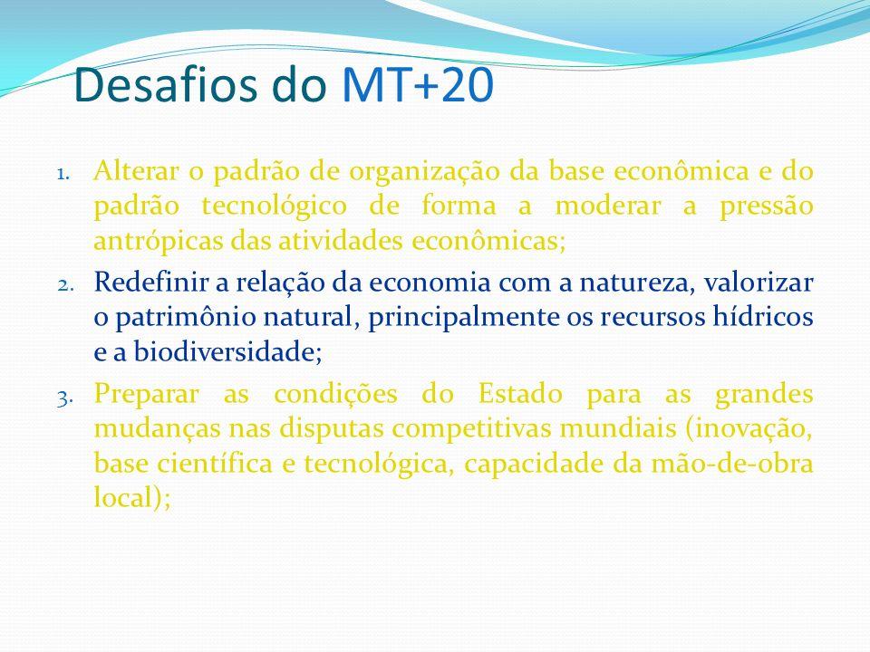 Desafios do MT+20 (cont.): 4.